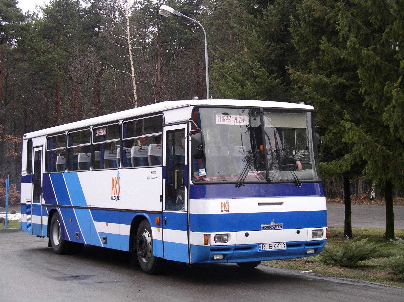 Wynajem autokarów - PKS Leżajsk